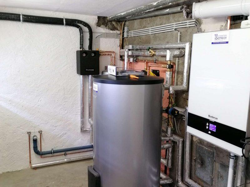 Öl Heizung gegen Gas Brennwert mit Solar getauscht in Geisenheimd (7)