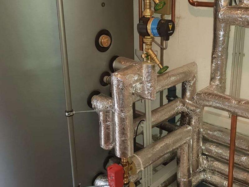 Erneuerung der Heizungsanlage in Waldalgesheim ÖL gegen Wärmepumpe mit Solar (21)