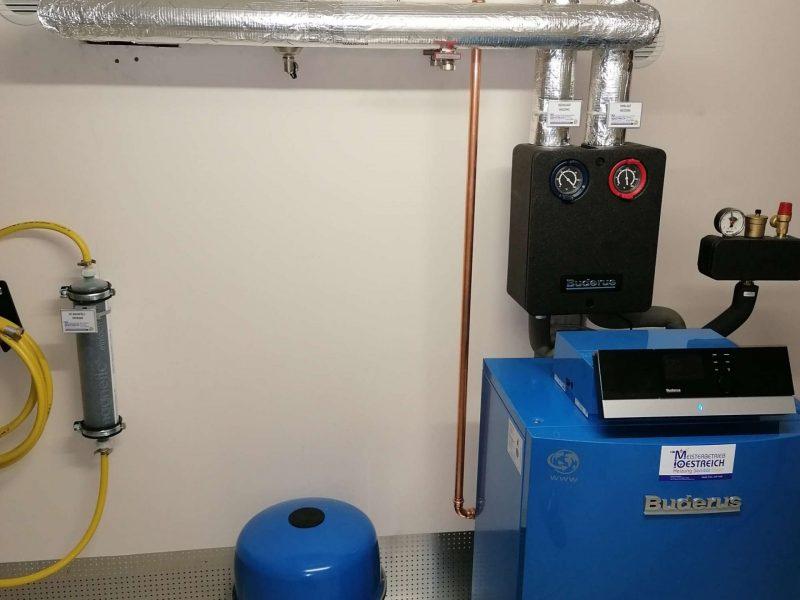 Heizungstausch Gas gegen Gas Brennwert in Bingen (1)