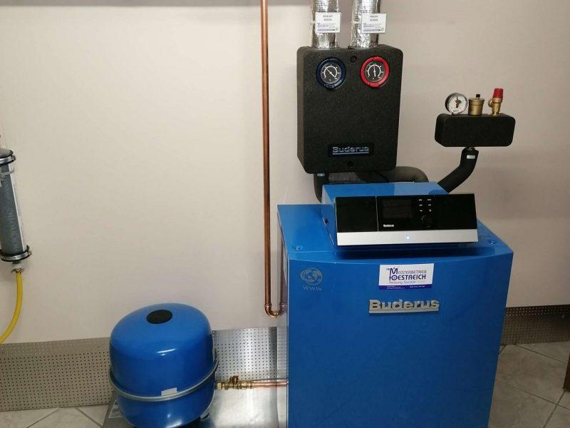 Heizungstausch Gas gegen Gas Brennwert in Bingen (2)