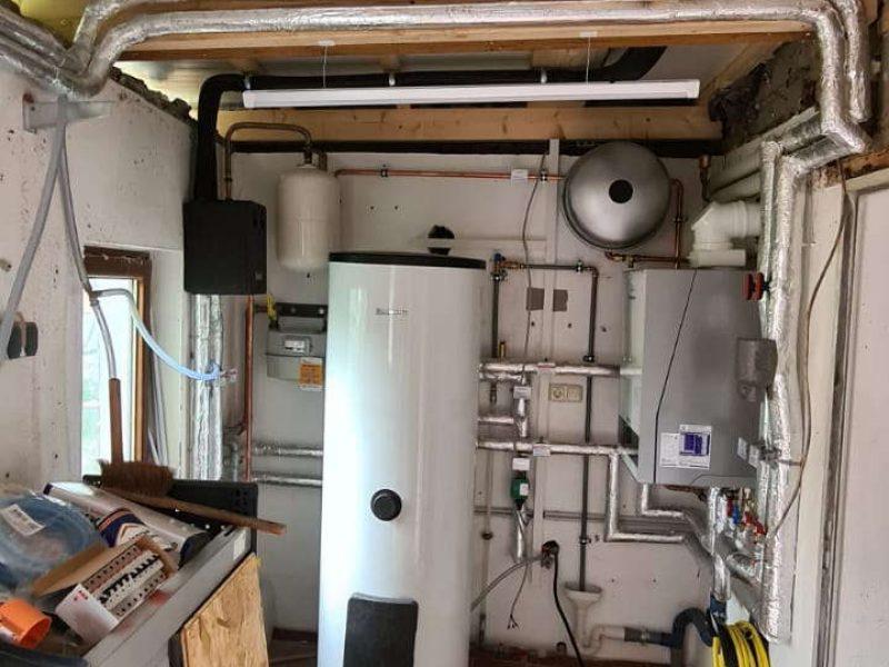 Heizungstausch mit Wiedereinbau der vorhanden Solaranlage in Weiler (4)