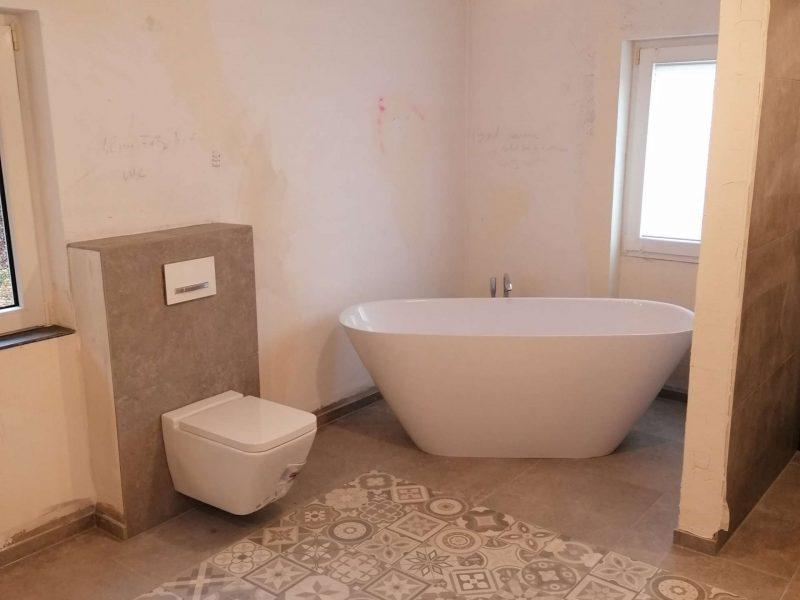 Sanierung eines Einfamilienhaus Heizung Sanitär Oberwesel (54)