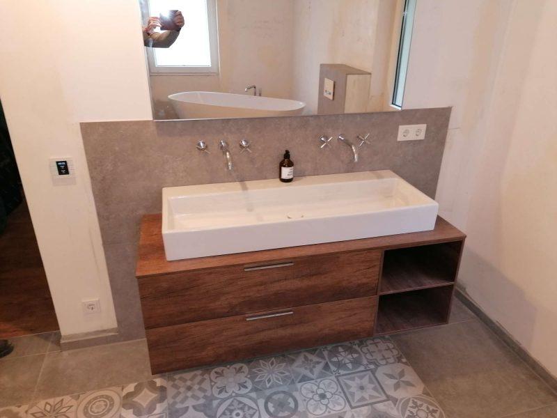 Sanierung eines Einfamilienhaus Heizung Sanitär Oberwesel (67)